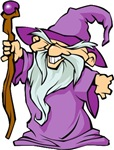Purple Robed Wizard