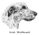 Irish Wolfhound items with this design