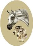 Salukis & Arab Horse items