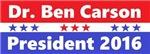 Dr. Ben Carson President 2016