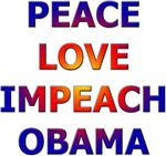 Peace Love Impeach Obama