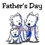Father's Day Westies