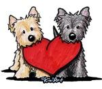 Cairn Terrier Valentines