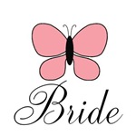 Bride Pink Butterfly