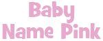 Pink Baby Names