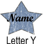 Blue Star names - Letter Y