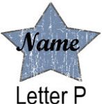 Blue Star names - Letter P