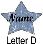 Blue Star names - Letter D