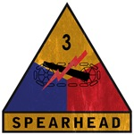 3rd Armored Division - Spearhead - vintage
