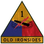1st Armored Division - Old Ironsides - Vintage