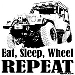 Eat, Sleep, Wheel - REPEAT