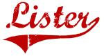Lister (red vintage)