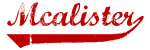 Mcalister (red vintage)