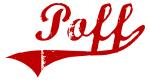 Poff (red vintage)