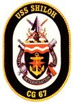 USS Shiloh CG-67 Navy Ship