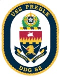 USS Preble DDG-88 Navy Ship