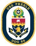 USS Preble DDG-88 Navy Ship