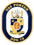 USS Porter DDG-78 Navy Ship
