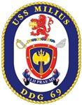 USS Milius DDG-69 Navy Ship