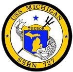 USS Michigan SSBN 727 USS Navy Ship