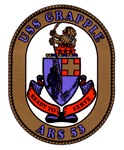 USS Grapple ARS 53 US Navy Ship