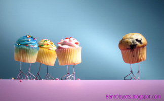 Bent Objects Cupcakes and Muffins