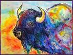 Buffalo, native art
