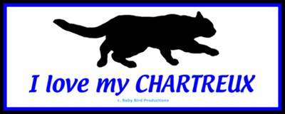 CHARTREUX CAT T-SHIRTS & GIFTS