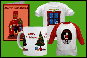 CHRISTMAS T-SHIRTS & GIFTS