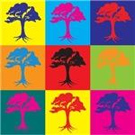 Trees Pop Art