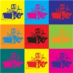Heavy Equipment Pop Art