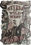 Copy of Nevada Real Wild West Rodeo Vintage Poster