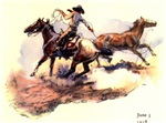 Americana Roping Mustangs