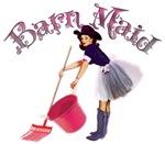 Barn Maid Vintage Pinup Cowgirl