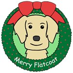 Flat Coated Retriever Christmas Ornaments