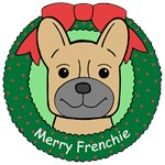 French Bulldog Christmas Ornaments