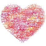 Allah 99 Names Heart