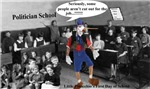 Politician School. Little Pinocchio's first Day...