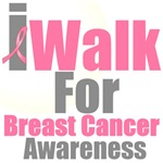 I Walk For Breast Cancer Awareness T-Shirts