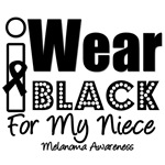 I Wear Black Ribbon For My Niece T-Shirts