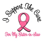 I Support The Cure For My Sister-in-Law T-Shirts