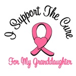 I Support The Cure For My Granddaughter T-Shirts