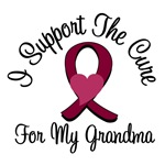 I Support The Cure Myeloma (Grandma) T-Shirts