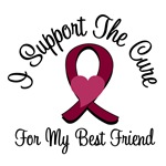 I Support The Cure Myeloma (Best Friend) T-Shirts