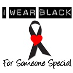 I Wear Black Ribbon For Someone Special T-Shirts