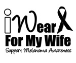I Wear Black Ribbon For My Wife T-Shirts & Gifts