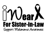 I Wear Black Ribbon For My Sister-In-Law T-Shirts