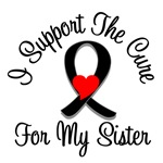 I Support The Cure Melanoma Sister Shirts & Gifts