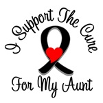 I Support The Cure Melanoma Aunt Shirts & Gifts