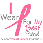 I Wear Pink For My Best Friend Shirts & Tees